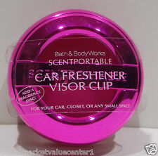 Bath & Body Works Slatkin & Co Scentportable Clip Fragrance Hot bride Pink
