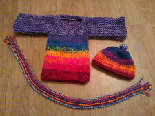Knitting Pattern Greyhound Rainbow Hound/ Sock Dog Jumper, bobble hat, scarf