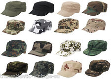 CLASSIC ARMY BDU PATROL CAP MILITARY STYLE FIELD COMBAT RIPSTOP COTTON ARMY HAT