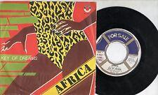AFRICA disco 45 STAMPA ITALIANA Key of dreams 1982 SYNTHAJOY The New Blackmen