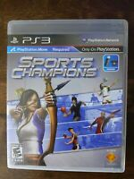 USED - Sports Champions (Sony PlayStation 3, 2010) - Free Shipping