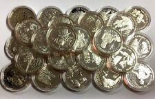 5M7) Cook Islands 50 Dollar Silber PP 1991-1993 500 Jahre Amerika, freie Wahl