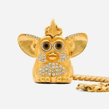 KMH Exclusive Furby Gold Plated Pendant Chain Limited A24 Films Uncut Gems Howie