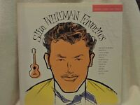 SLIM WHITMAN FAVORITES SIGNATURE ATTRIBUTED TO SLIM Country LP OG ISSUE LP9003