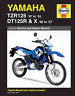 Haynes Workshop Manual Yamaha TZR125 DT125R DT125X 1987-2007 New Service Repair