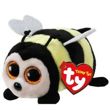 """TY Beanie Boos Teeny Tys 4"""" ZINGER Bee Stackable Plush Stuffed Animal Toy MWMT's"""