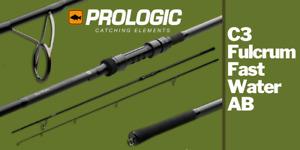 Prologic C3 Fulcrum Fast Water 9,6Ft 3,5Lb Carpfishing Rod Canna Carpa Rig A1393