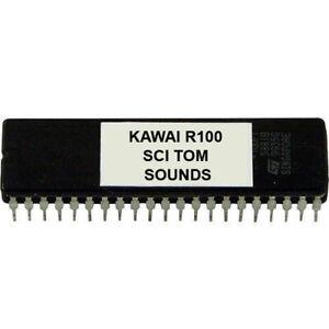Kawai R100 R50 Sound Eprom Sets With Akai Cheetah Emu Ski Yamaha Für Drummachine