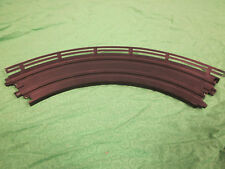 Guardrails #2 with silver chrome powdercoat finish for HO scale slot car tracks