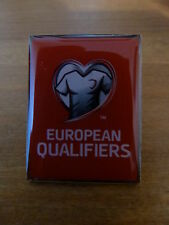 RARE 2015/16 EURO QUALIFIERS PIN BADGE - BRAND NEW