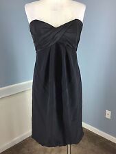 Nicole Miller Black Strapless S 4 6 Bubble Dress Cocktail Party LBD Excellent