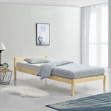 [En.casa] Cama de Madera 90x200cm Estructura Individual Pino Juvenil