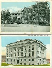 Popular Bluff  MO Collector's Set: The City Hospital and Court House