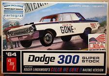 1964 Dodge 330 Super Stock COLOR ME GONE, 1:25, AMT 987 neu 2017 neu