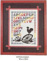 COUNTRY SAMPLER  -  CROSS STITCH PATTERN ONLY    H49M1