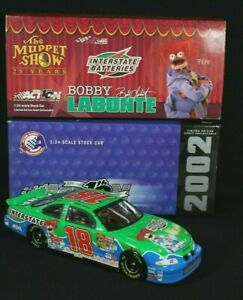 Action Racing Bobby Labonte #18 Muppets 25th Anniversary 2002 1:24 Scale