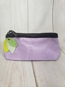 Mary Kay Purple Cosmetic Makeup Bag Floral Flower New Lavender Lilac