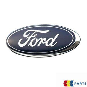 Neuf Véritable Ford Fiesta Focus C-Max Ka Avant Ovale Capot Grille Badge Emblème