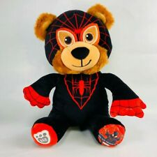 Build A Bear MINIS MILES MORALES SPIDERMAN Mini Stuffed Animal Super Heroes NWT