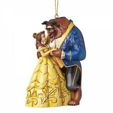 Disney Traditions Beauty & The Beast Hanging Ornament New Boxed A28960