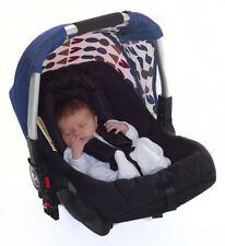 Poussettes et systèmes combinés de promenade bleus panier pour bébé