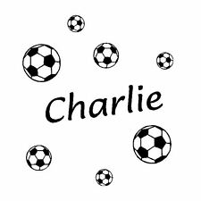 Footballs with Personalised Name. Girls or Boys