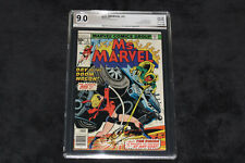 MS MARVEL 5 PGX 9.0 SIGNED BY GERRY CONWAY MARVEL COMICS 1977 THE VISION LOT 1