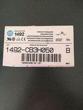 Circuit Breaker Allen-Bradley Quality 1492-CB3H050 NIB 1492 CB3 H050