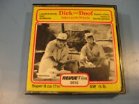 8 mm Film Comedy/Slapstick.Dick u.Doof haben große Wäsche-Antique Comedy Films