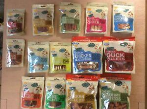 Good Boy Pawsley Dog Treats Meat Chicken Venison Duck Lamb Tasty Healthy Chewy