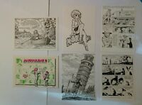 6 carte postale numérotée Angoulême De Moor Forest Walthery Swolfs Wagner Comes