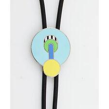 """Vintage ACME """"Aristotele"""" Bolo Tie by Memphis Designer Michele De Lucchi NEW"""