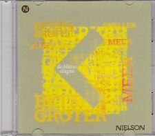 Nielson-De Kleine Dingen Promo cd single
