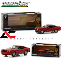 GREENLIGHT 86321 1:43 1978 FORD MUSTANG COBRA II RED W/CASE