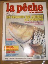La pêche et les poissons N°595 Les produits qui attirent les poissons Norvège