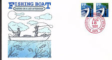 FISHING BOAT - 2529  -  GAMM FDC - 1991