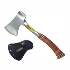 ESTWING   Sportsman Axe with Sheath - Leather Grip - E14A 14oz