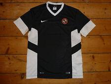 Grande Dundee Unido FC Camisa Nike Negro Entrenamiento Camiseta de Fútbol