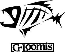 2x G-Loomis Fishing Sticker For Boat - Marine Grade Vinyl - Made To Last