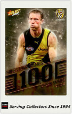 2018 AFL Footy Stars Trading Card Milestones Subset MG90 D. Grimes (Richmond)