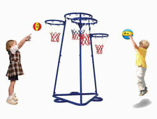 Children's Fitness Basketball Target Multi Trainer - Foldable with storage bag