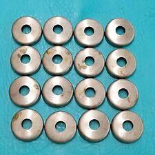 """16 New 1 1/2"""" Steel Weld On Cups Feet Metal Wrought Iron Patio Chair Leg Caps"""