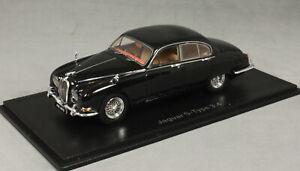 Neo Models Jaguar S-Type 3.4 in Black 1965 45397 1/43 NEW 2020 Release