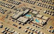 Mesa Arizona aerial view Deluxe Travel Trailer Resort vintage pc Y14729