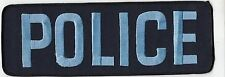 """LARGE JACKET/DISPLAY POLICE PATCH (10.25"""" x 3.50"""")"""
