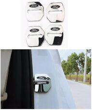 Stainless steel Door Lock Striker Cover for Ford Focus C-Max Fiesta Escort Edge