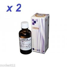 2 x DENTAL EDTA 17% Root Canal Preparation Solution i-EDTA