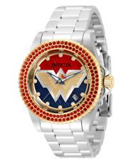 Invicta DC Comics Wonder Woman 84 Ladies 40mm Limited Crystals Swiss Watch 35641
