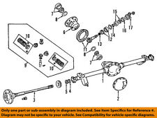 Jeep CHRYSLER OEM 99-04 Grand Cherokee Rear-Axle Bearings 5012825AA