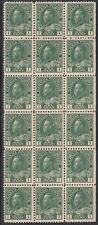 Canada UNITRADE # 104 Block of 18 stamps MNH  Value $ 2160.00